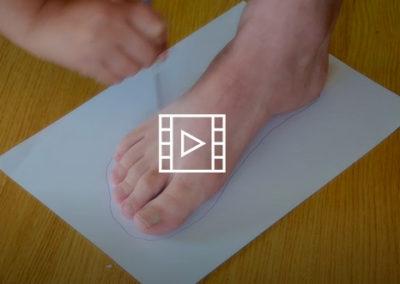 Cómo tomar las medidas del pie para hacer un zapato adaptado